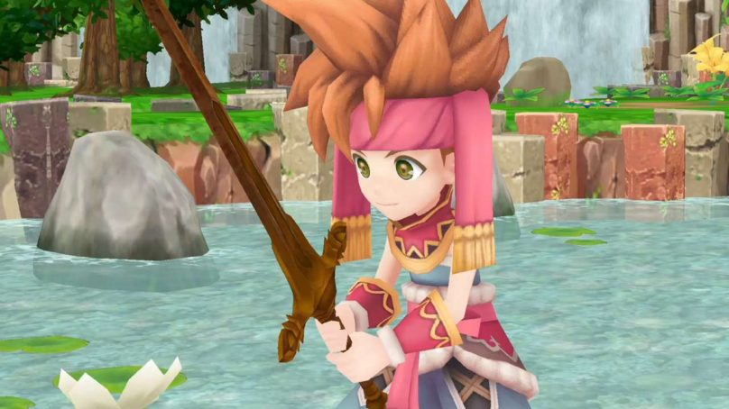 Here's 10 Minutes of Secret of Mana Remake Footage!